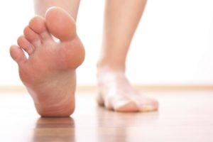 curare i piedi in inverno